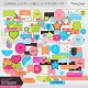 Summer Lovin' Labels & Stickers Kit