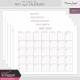 The Good Life: May 2021 Calendars Kit