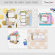 Unicorn Tea Party Quick Pages Kit