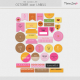 The Good Life: October 2021 Labels Kit