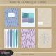 Winter Arabesque Cards Kit