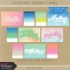 Good Day Pocket Cards Kit