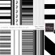Stripe Paper Template Kit (21-30)