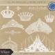 All the Princesses- Crown Stamp Kit