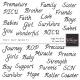 Tiny, But Mighty - Single Words Wordart Kit