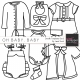 Oh Baby, Baby - Doodle Templates Set 2
