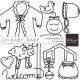 Oh Baby, Baby - Doodle Templates Set 3