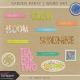 Garden Party- Word Art Kit