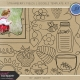 Strawberry Fields- Doodle Template Kit 1