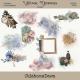 Vintage Memories - Clusters and Paint Splatters Kit