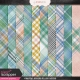 Coastal Spring Plaid Papers