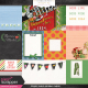 Veggie Table Journal Cards