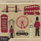 England Illustrations Kit #1