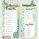 BIble Journaling in a Travelers Notebook: 12 Bible Eras/ Conquest Era
