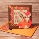 Give Thanks card with matching envie