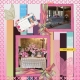 Eunice Thompson Memorial Scrapbook Layout