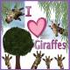 I Heart Giraffes