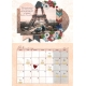 February 2018 A4 Calendar
