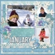 January 2016 Calendar-Our Family