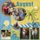 August 2016 Calendar-Our Family