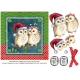 Christmas Owl Card Front