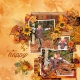Leaf Play on Mackinac