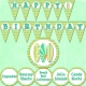 Surfin Birthday Printables
