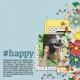 #happy (Thrifty Scraps)