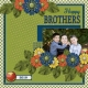 Happy Brothers2 (Thrifty Scraps)