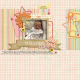 Layout Templates Kit #74- Welcome Baby Girl