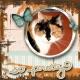 Butterflies in the cat's eyes