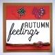 Autumn Feelings Square Card