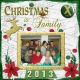 2013 Christmas Layout- Christmas is Family, page 1 of 3