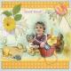 Easter little rabbit girl