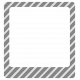 Diagonal Striped Frame Template