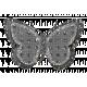 Burlap Glitter Butterfly Template