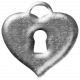 Metal Heart Lock Template