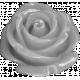 Rosebud Button Template #02