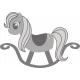 Rocking Horse Template