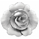 Rose Button Template
