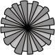 Paper Flower 27 - Template