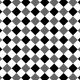Gingham 1 Inch Squares- Diagonal- Paper Template