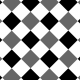 Gingham Paper Template- 2 Inch Squares, Diagonal