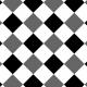 Gingham Paper Template- 2 Inch Squares, Diagonal