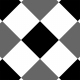 Gingham 4 Inch Squares- Diagonal- Paper Template