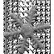 Glitter Snowflake Template