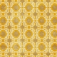 Sweet Dreams- Damask Paper- Mustard