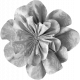 Fabric Flower Template 002