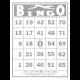 Bingo Card Template 001