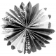 Accordion Paper Flower Template 01